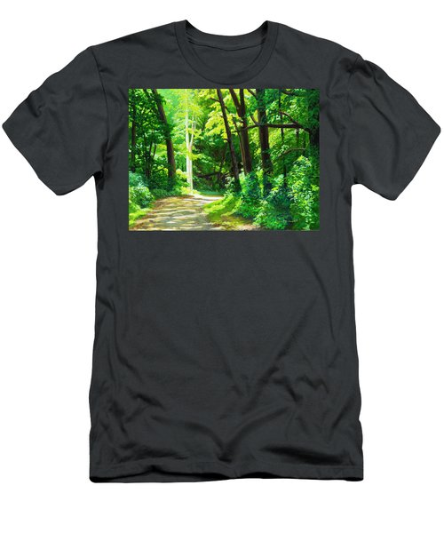 Heaven And Nature Sings Men's T-Shirt (Athletic Fit)