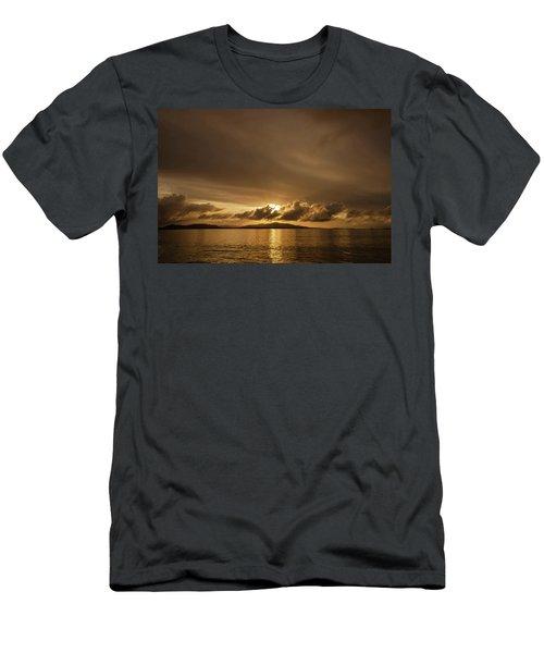 Hebridean Sunrise Men's T-Shirt (Athletic Fit)