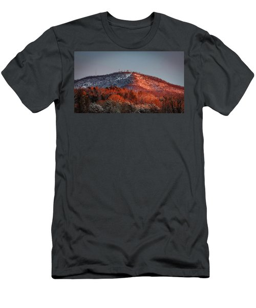 Hibriten Mountain - Lenoir, North Carolina Men's T-Shirt (Athletic Fit)