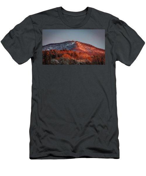 Hibriten Mountain - Lenoir, North Carolina Men's T-Shirt (Athletic Fit)