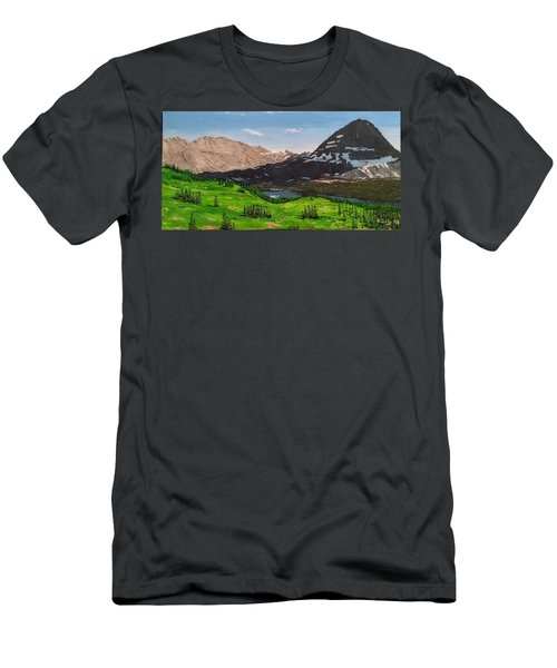 Hidden Lake Pass Men's T-Shirt (Athletic Fit)