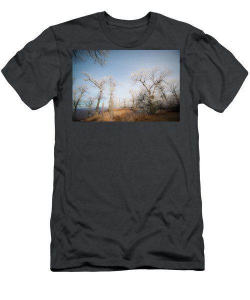 Hilltop Hoarfrost Men's T-Shirt (Athletic Fit)