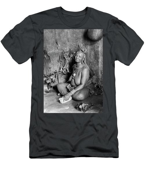 Himba Grand Mother Men's T-Shirt (Athletic Fit)