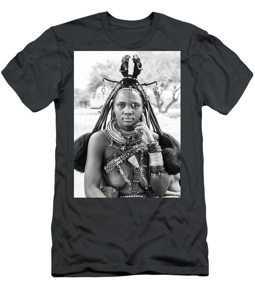 Himba Style Girl Men's T-Shirt (Athletic Fit)