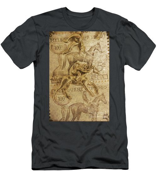 Historic Horse Racing Men's T-Shirt (Athletic Fit)