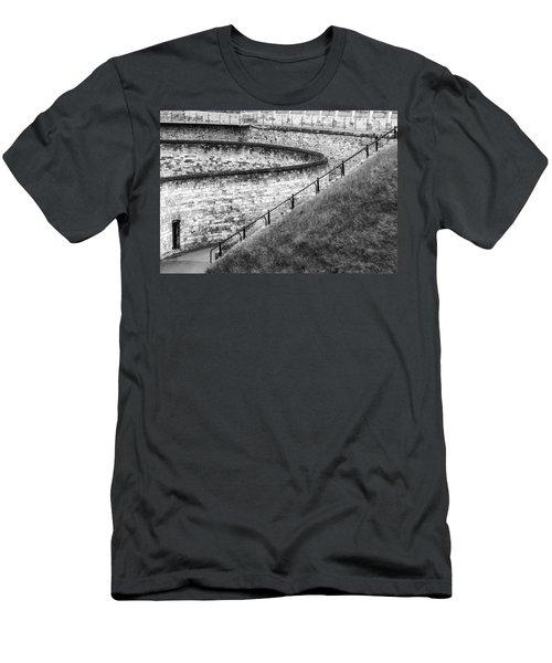 Lincoln Castle Men's T-Shirt (Athletic Fit)