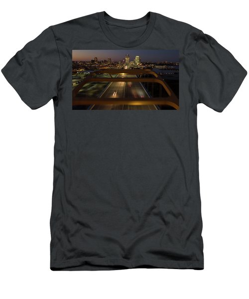 Men's T-Shirt (Athletic Fit) featuring the photograph Hoan View by Randy Scherkenbach