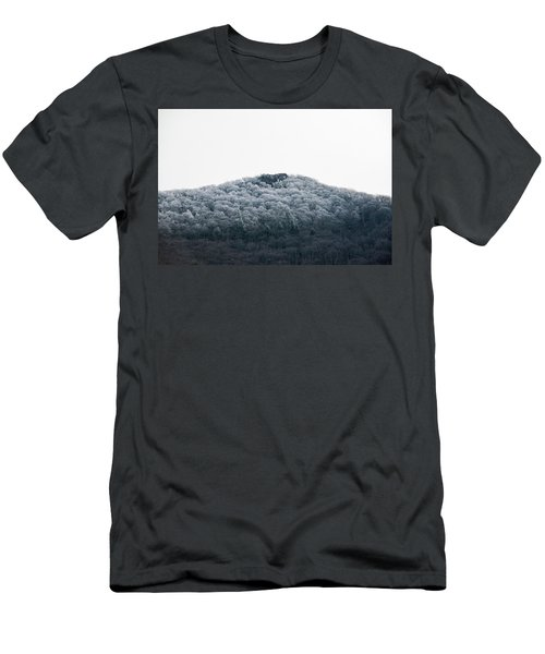 Hoarfrost On The Mountain Men's T-Shirt (Athletic Fit)