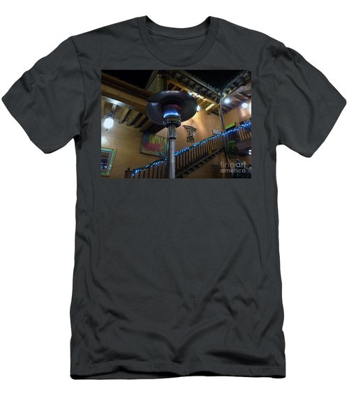 Men's T-Shirt (Athletic Fit) featuring the photograph Holiday Dining In Patzcuaro by Rosanne Licciardi