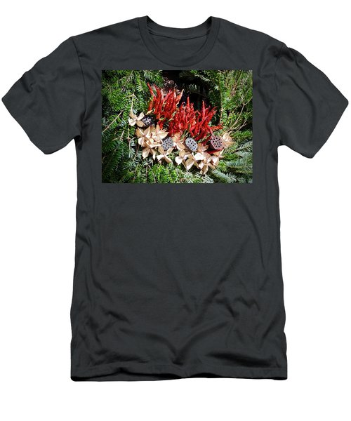 Men's T-Shirt (Athletic Fit) featuring the photograph Holiday Peppers by Don Moore