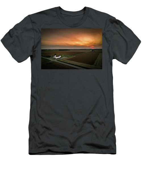 Holy Sunset Men's T-Shirt (Athletic Fit)