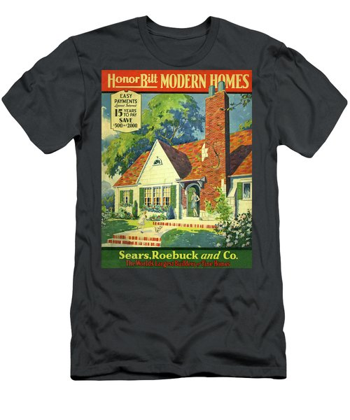 Honor Bilt Modern Homes Sears Roebuck And Co 1930 Men's T-Shirt (Athletic Fit)