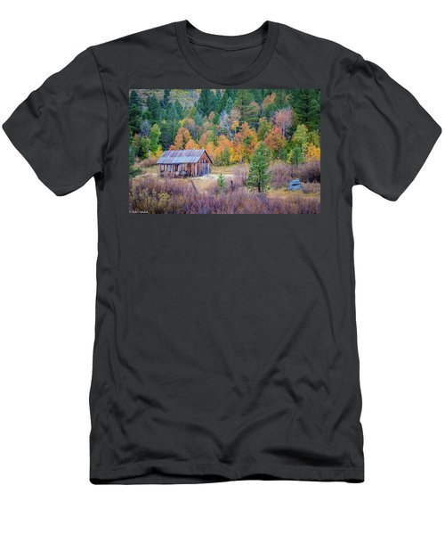 Hope Valley Cabin Men's T-Shirt (Athletic Fit)