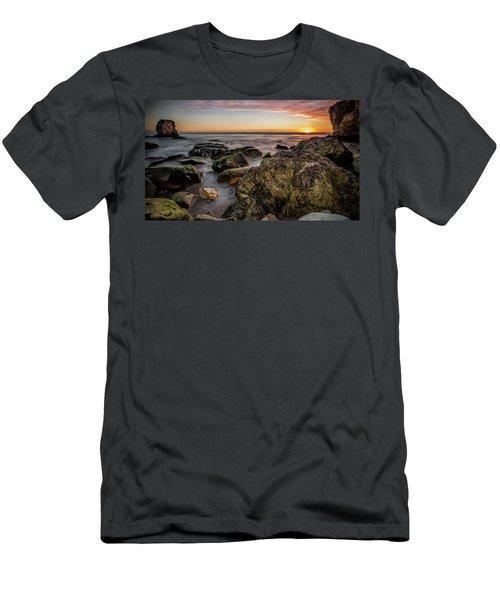 Horizon Glow Men's T-Shirt (Athletic Fit)