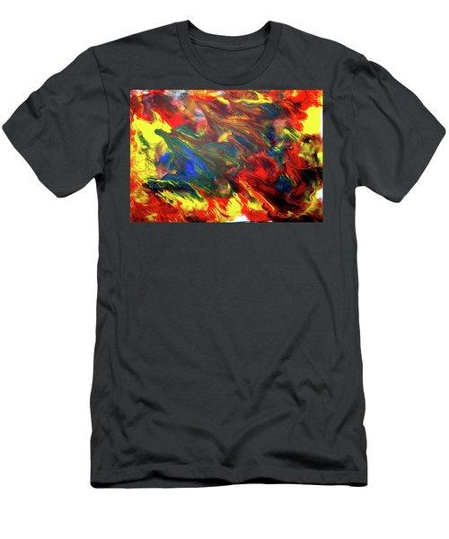 Hot Colors Coolling Men's T-Shirt (Athletic Fit)