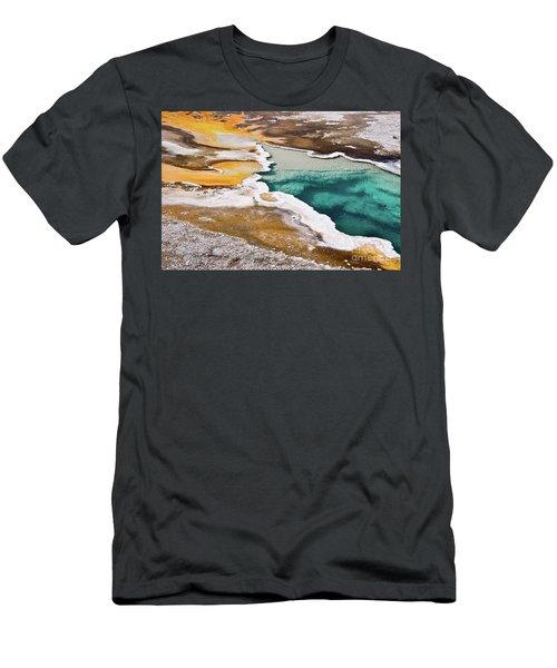 Hot Spring  Men's T-Shirt (Athletic Fit)