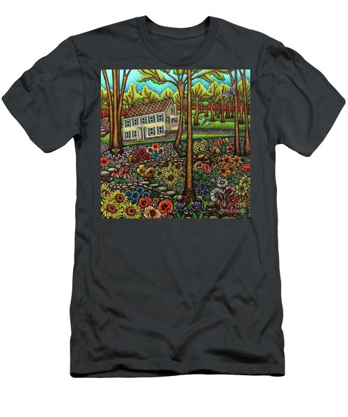 House In The Meadow  Men's T-Shirt (Athletic Fit)