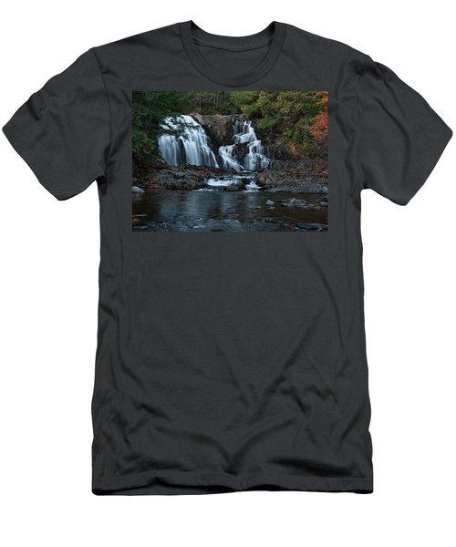 Houston Brook Falls Men's T-Shirt (Athletic Fit)