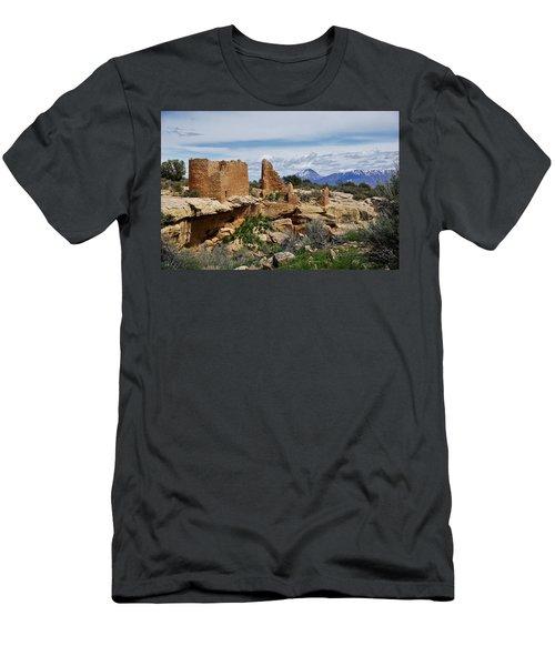 Hovenweep Castle Men's T-Shirt (Athletic Fit)