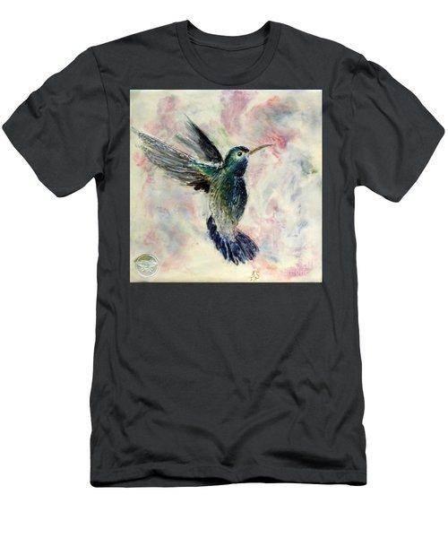 Hummingbird Flight Men's T-Shirt (Athletic Fit)