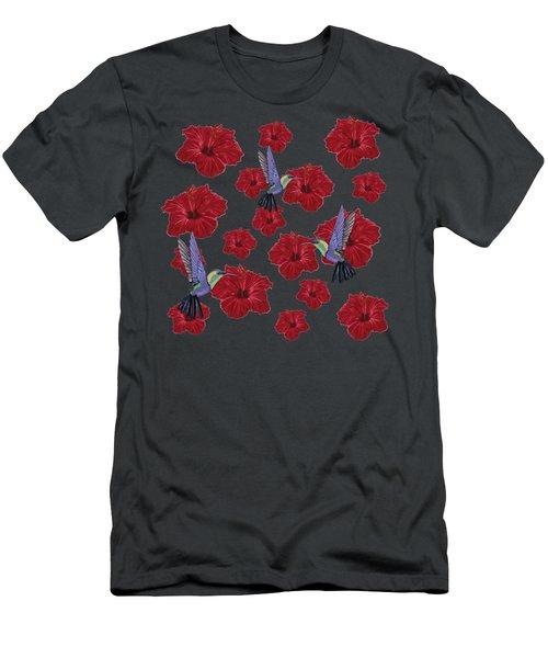 Hummingbirds Dream  Men's T-Shirt (Athletic Fit)
