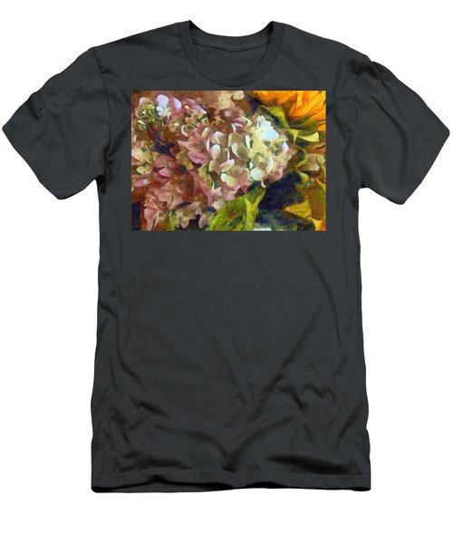 Hydrangea Love Men's T-Shirt (Athletic Fit)