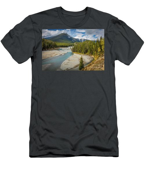 Icefields Parkway Delta Men's T-Shirt (Athletic Fit)