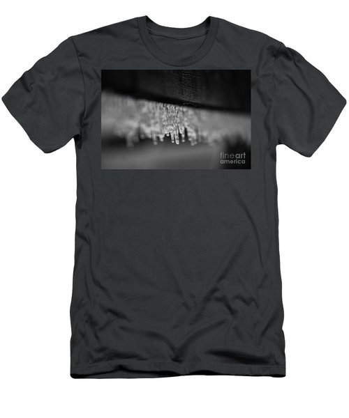 Icy Fence Men's T-Shirt (Athletic Fit)