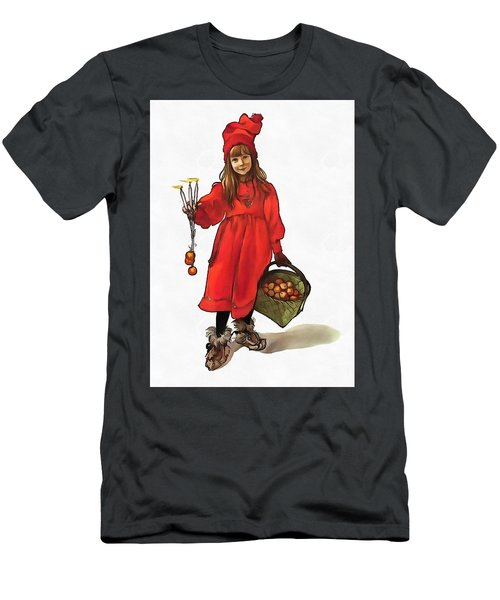 Iduna And Her Magic Apples Men's T-Shirt (Athletic Fit)