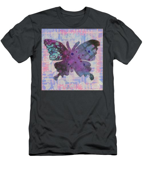 Imagine Butterfly Men's T-Shirt (Athletic Fit)