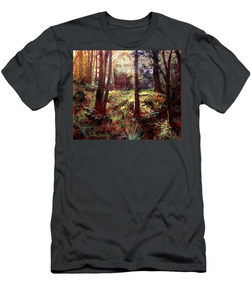 In Him We Live, And Move, And Have Our Being Men's T-Shirt (Athletic Fit)