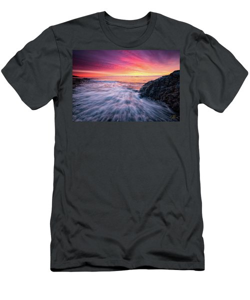 In The Beginning There Was Light Men's T-Shirt (Athletic Fit)