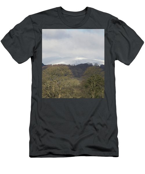 Men's T-Shirt (Athletic Fit) featuring the photograph In The Distance by JLowPhotos