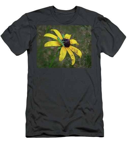 Men's T-Shirt (Athletic Fit) featuring the photograph In The Meadow by Dale Kincaid