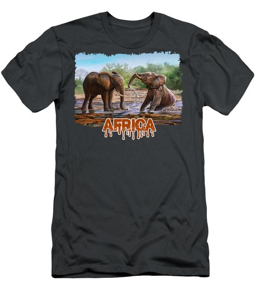 In The Muddy Pool Men's T-Shirt (Athletic Fit)