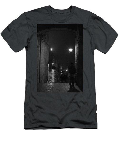 Men's T-Shirt (Athletic Fit) featuring the photograph In Wait by Alex Lapidus