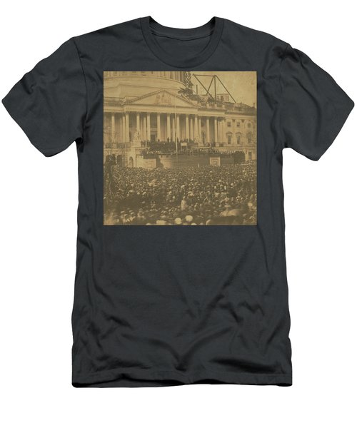 Inauguration Of Abraham Lincoln, March 4, 1861 Men's T-Shirt (Athletic Fit)