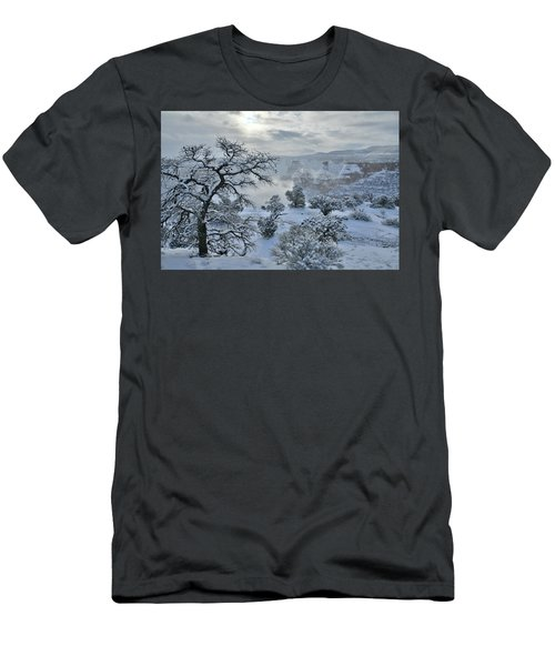 Independence Canyon At Sunrise In Colorado National Monument Men's T-Shirt (Athletic Fit)