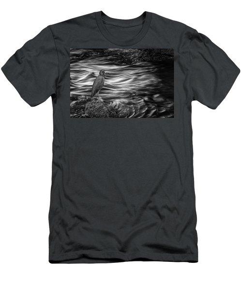 Inlet Heron 2 Men's T-Shirt (Athletic Fit)