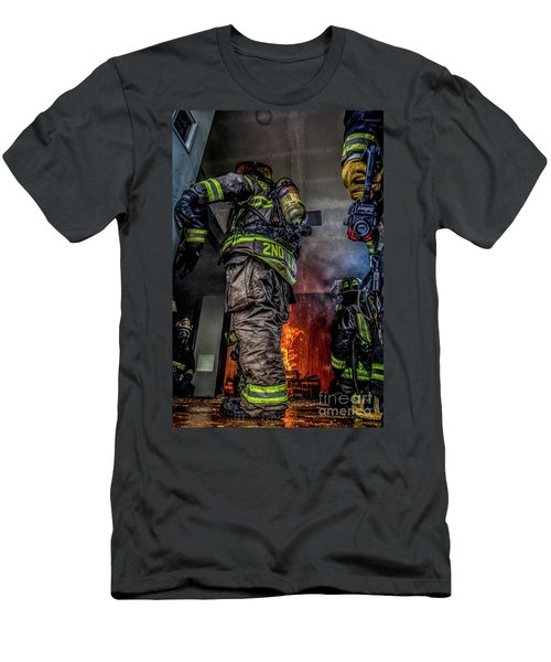 Interior Live Burn Men's T-Shirt (Athletic Fit)