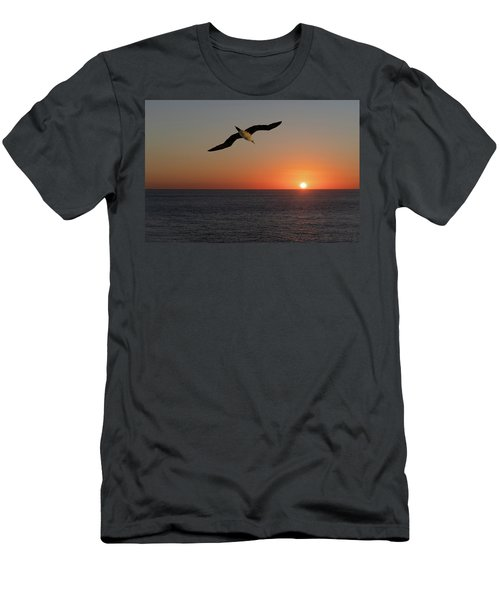 Into The Setting Sun Men's T-Shirt (Athletic Fit)