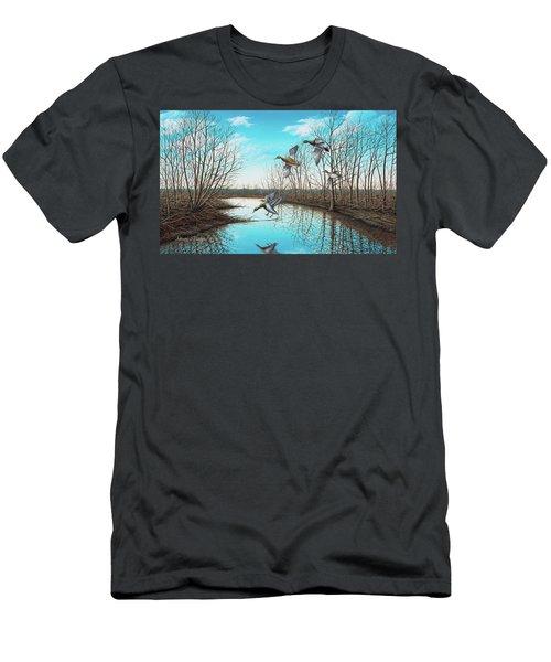 Intruder Men's T-Shirt (Athletic Fit)