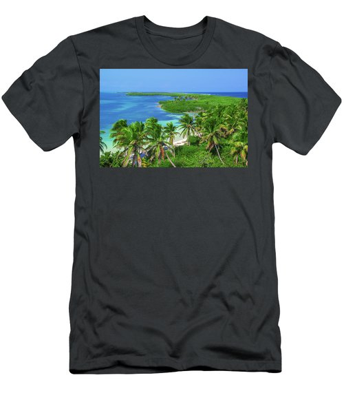 Isla Contoy Men's T-Shirt (Athletic Fit)
