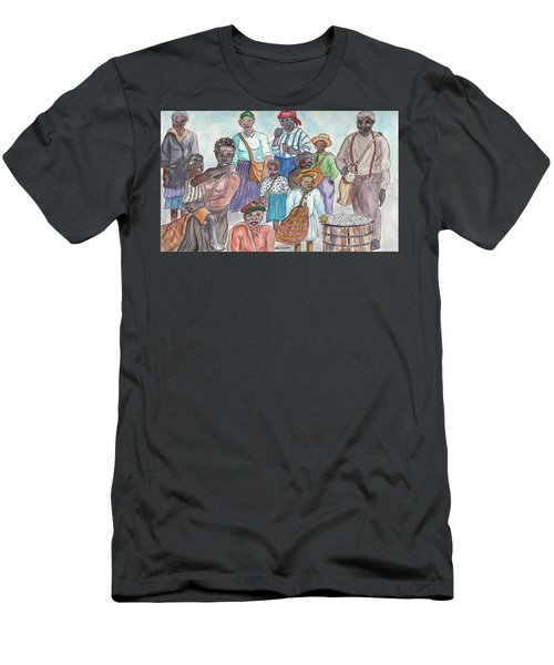 It's Cotton Picking Time At The Spangler Farm In South Alabama Men's T-Shirt (Athletic Fit)