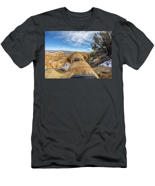 Men's T-Shirt (Athletic Fit) featuring the photograph Jackson At Bryson Canyon by Matthew Irvin