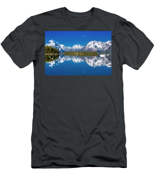 Jackson Lake Men's T-Shirt (Athletic Fit)