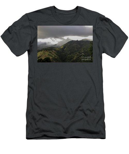Jamaican Blue Mountains Men's T-Shirt (Athletic Fit)