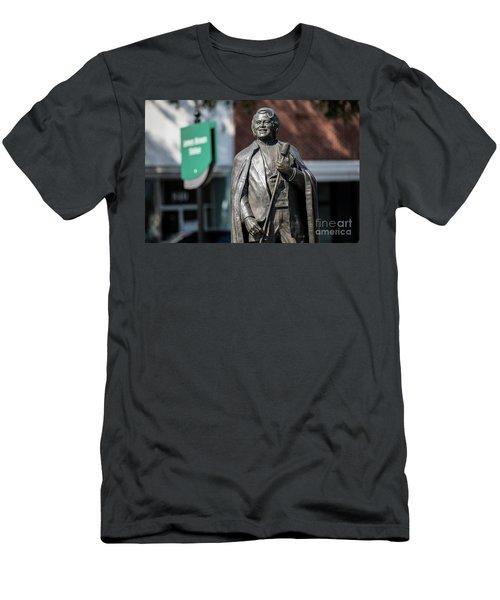 James Brown Statue - Augusta Ga Men's T-Shirt (Athletic Fit)