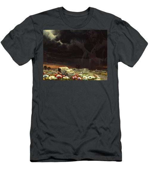 Jesus And His Jewels Men's T-Shirt (Athletic Fit)