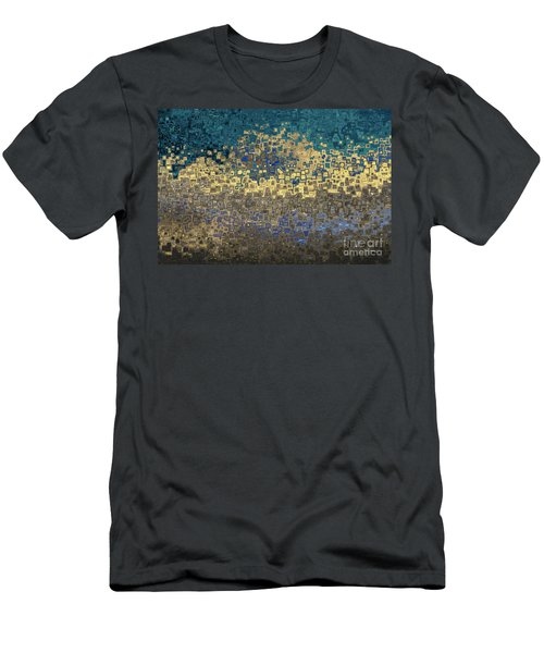 Men's T-Shirt (Athletic Fit) featuring the painting Jesus Christ The Heir Of All Things. Hebrews 1 2 by Mark Lawrence